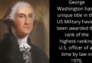 61 Interesting Facts about George Washington